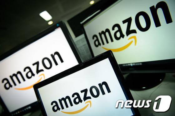 아마존 로고. © AFP=뉴스1