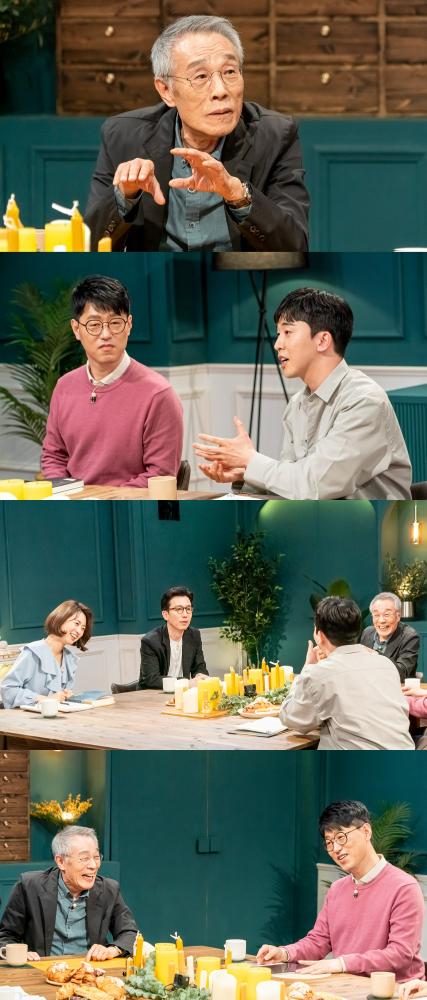 황석영 작가가 방북한 일화를 공개했다. /사진=대화의 희열 제공