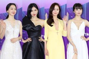 2021 백상예술대상, 여배우 드레스 코드는 '파격'vs '청순'