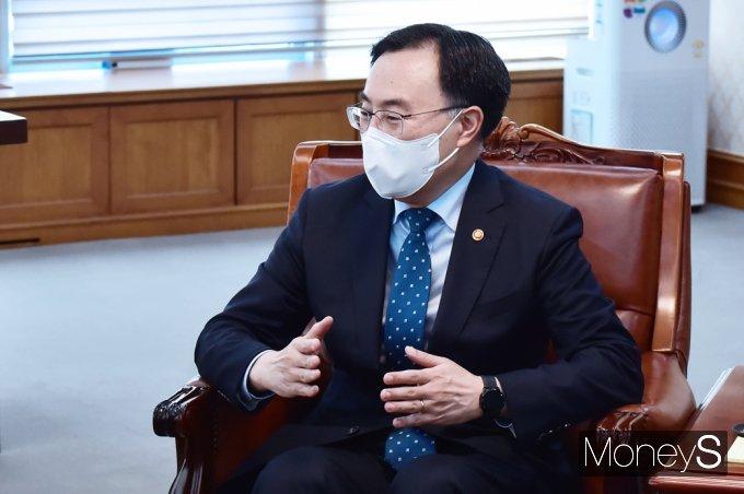 [머니S포토] 우리경제 현황 관련 발언하는 문승욱 사업 장관