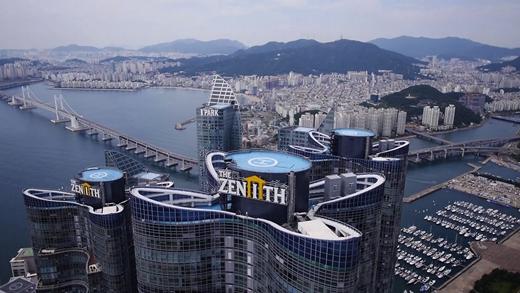두산건설은 부산 경남지역에서 최근 2년동안 약 1만구가 넘는 제니스 아파트를 공급했다. /사진제공=두산건설