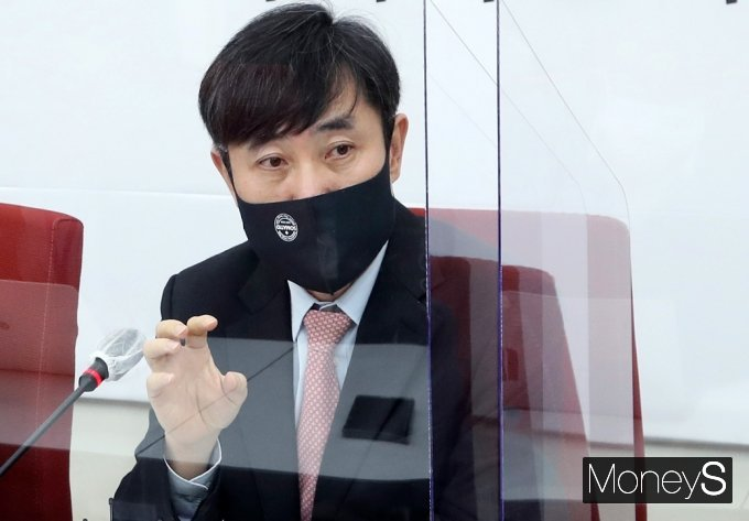 하태경 의원이 홍준표 무소속 의원의 국민의힘 입당에 부정적인 입장을 드러냈다. /사진=임한별 기자