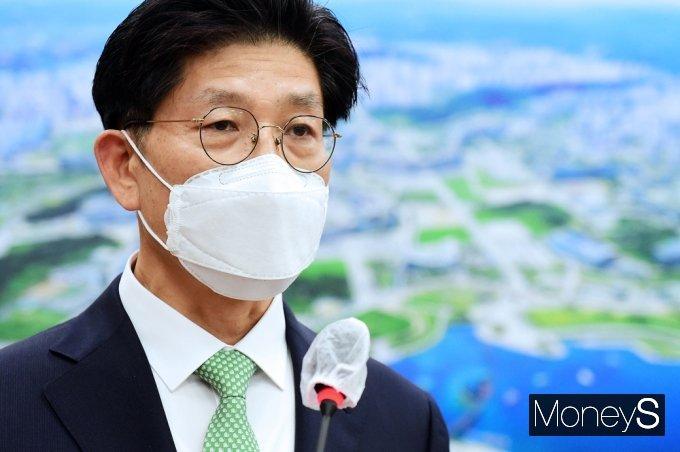 노형욱 신임 국토 장관이 지난 14일 취임했다. /사진=임한별 기자