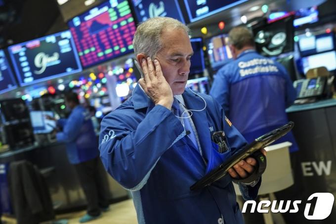 뉴욕증권거래소(NYSE) ©AFP=뉴스1