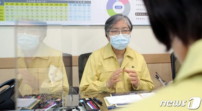 정은경 질병관리청장. 2021.4.30/뉴스1 © News1 장수영 기자