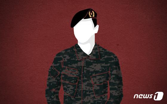 군인 그래픽. © News1 DB