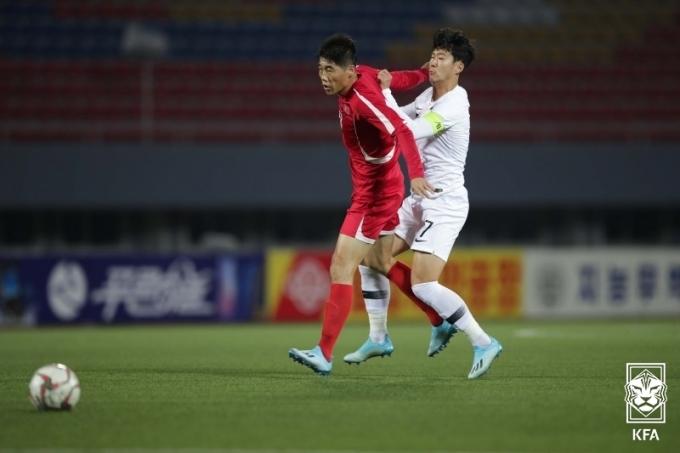 북한 축구 대표팀이 불참을 선언했다.(대한축구협회 제공)© 뉴스1