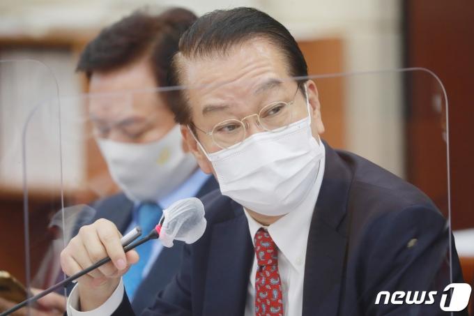 권영세 국민의힘 의원. 2020.10.22/뉴스1 © News1 성동훈 기자