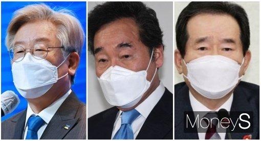 """""""부동층 잡자"""" 이재명·이낙연·정세균… 5·18 맞아 호남 방문"""