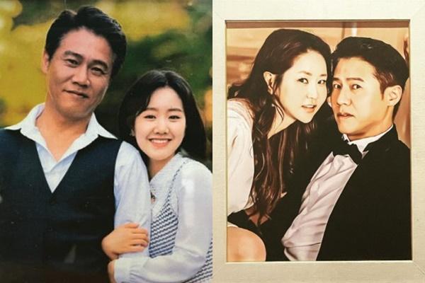 박호산이 신은경, 진지희와 함께한 사진을 공개했다. /사진=박호산 인스타그램