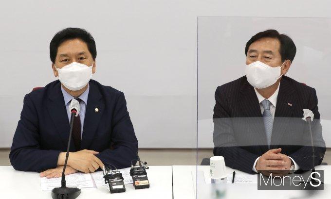 [머니S포토] 김기현 권한대행, 중기회장 접견
