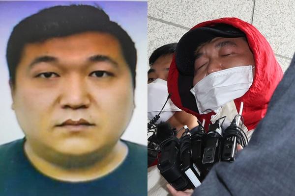 인천 한 노래주점에서 손님을 살해한 뒤 시신을 훼손해 유기한 혐의로 구속된 업주의 신상이 공개됐다. /사진=인천경찰청 제공, 뉴스1