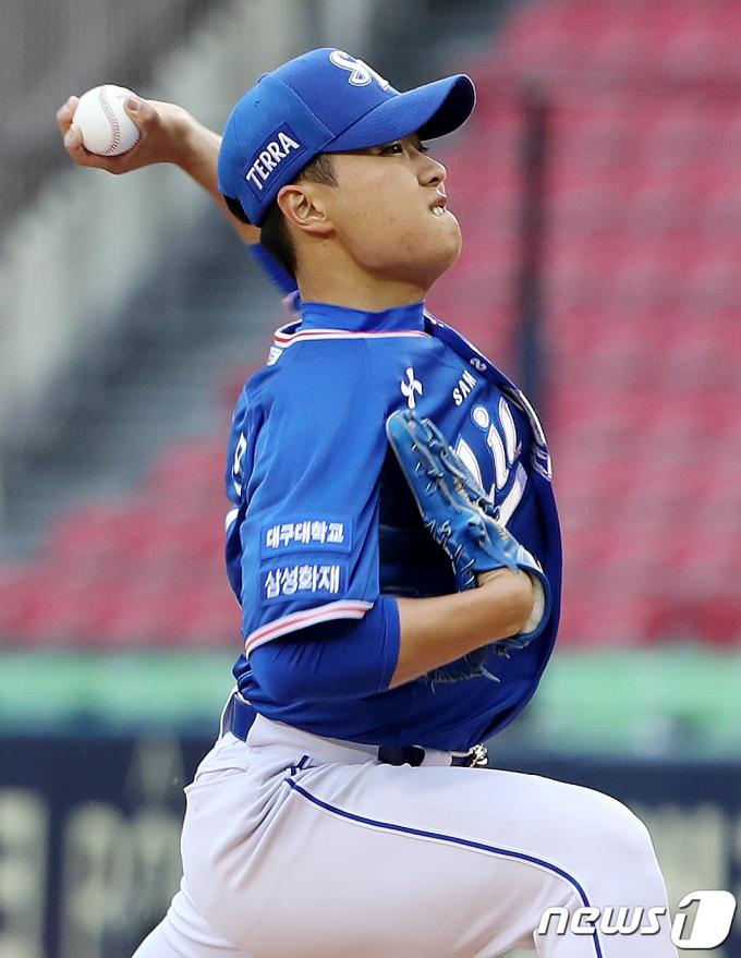 [사진] 삼성 이상민 '이 악 물고'