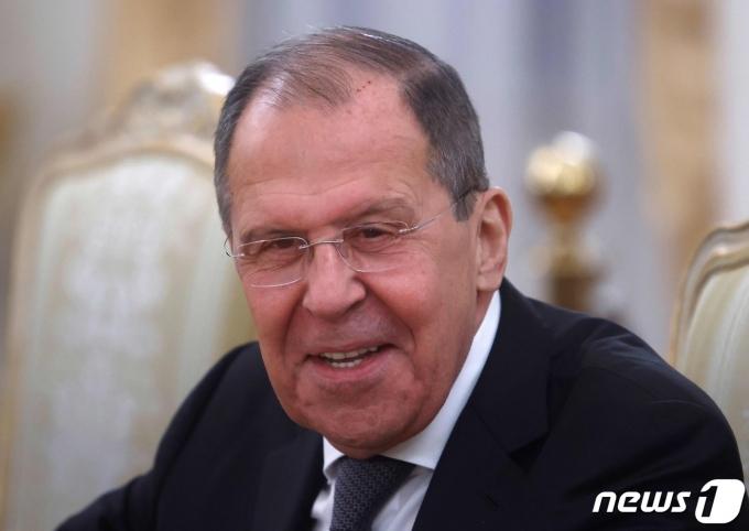 세르게이 라브로프 러시아 외무장관 <자료사진> © AFP=뉴스1