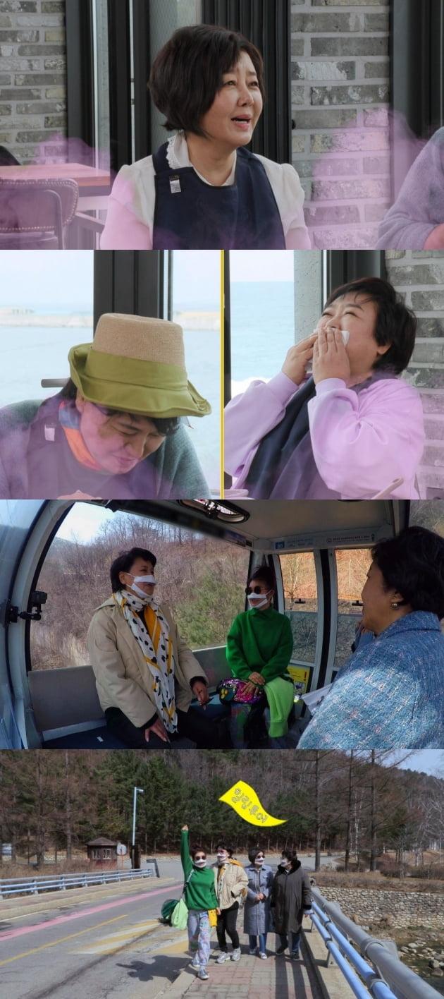 김영란이 노출신 촬영 당시를 떠올렸다. /사진='같이삽시다' 제공