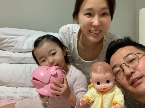 이지혜가 둘째 임신 소식을 전했다. /사진=이지혜 인스타그램