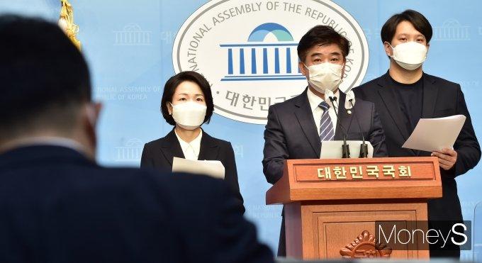 """[머니S포토] 김병욱 """"블록체인과 가상자산, 단순 투기로 보면 올바른 방향 설정 못해"""""""