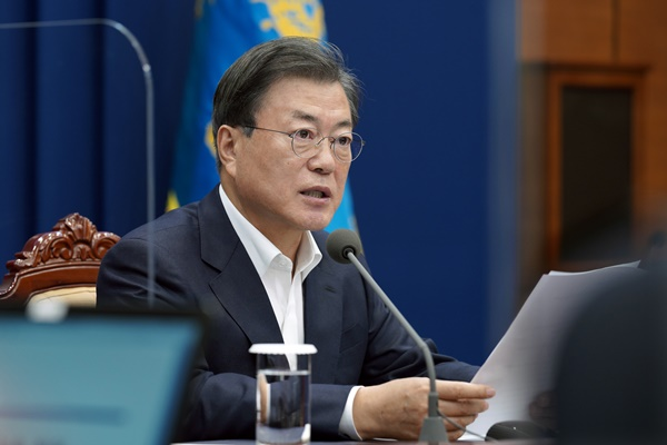 문 대통령, 19~22일 방미… 바이든과 21일 정상회담