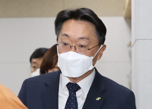 김현준 LH 사장이 18일 노형욱 국토 장관과 만나 주택공급대책을 논의했다. /사진=뉴시스