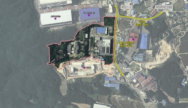 화재로 방치되던 공장부지가 14년 만에 바이오 약품공장으로 새롭게 태어난다. / 사진제공=이천시