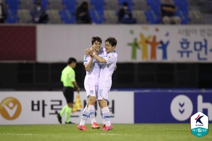 포항 스틸러스의 임상협(한국프로축구연맹 제공)© 뉴스1