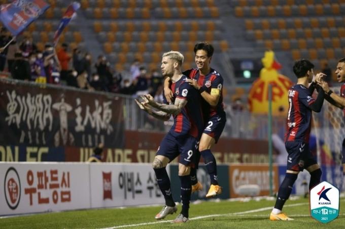 수원FC의 라스(한국프로축구연맹 제공)© 뉴스1