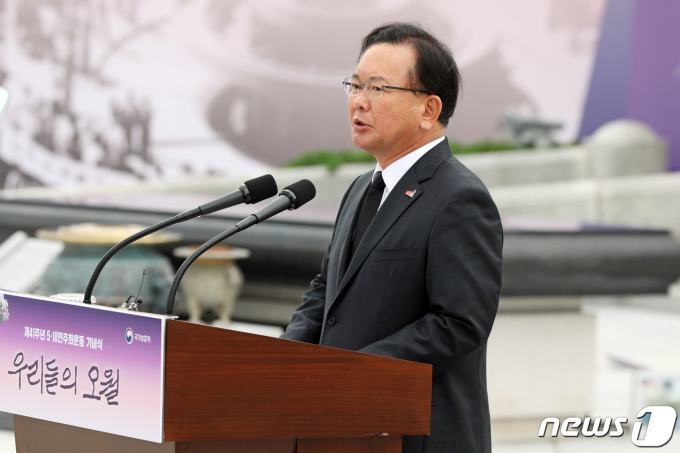 김부겸 국무총리 2021.5.18/뉴스1 © News1 황희규 기자