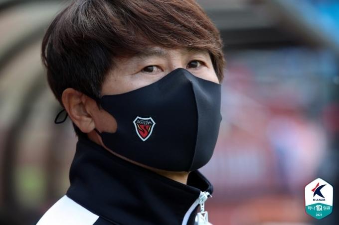 김기동 포항 스틸러스 감독(한국프로축구연맹 제공)© 뉴스1