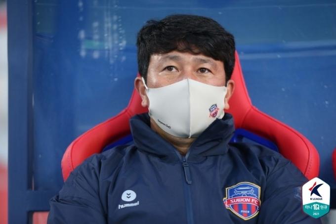 김도균 수원FC 감독(한국프로축구연맹 제공)© 뉴스1