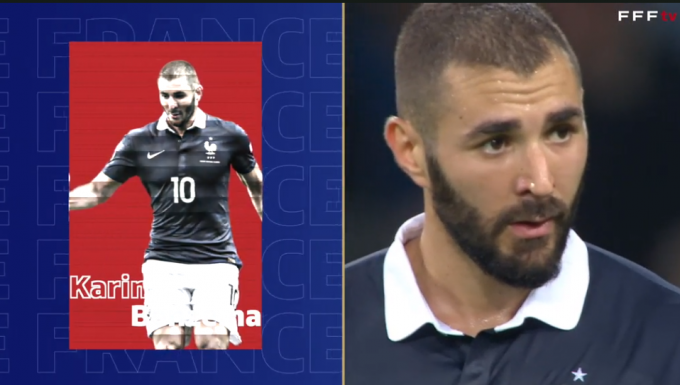 19일(한국시각) 프랑스축구협회는 카림 벤제마를 6년만에 대표팀으로 불러들였다. /사진=프랑스축구협회공식 홈페이지 영상 캡처