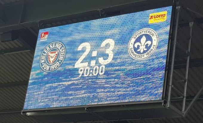 홀슈타인 킬이 지난 23일 밤(한국시각)에 열린 다름슈타트와의 시즌 최종전 홈경기에서 2-3으로 패해 승강 플레이오프를 치러야 하는 3위로 밀려났다. /사진=홀슈타인 킬 구단 공식 인스타그램
