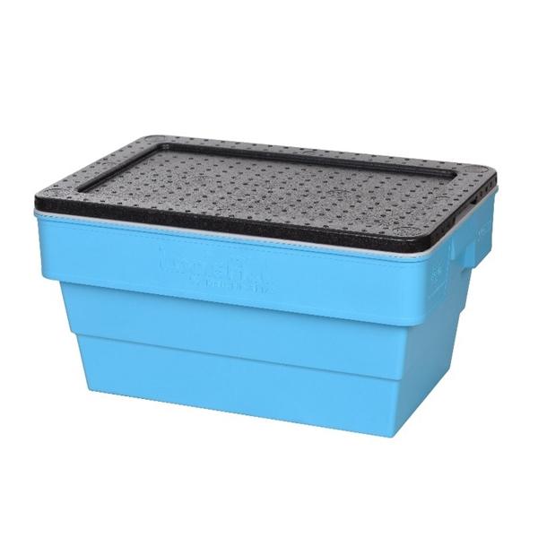 재사용이 가능한 EPP(발포 폴리프로필렌) 배송용 보냉박스. /사진=롯데케미칼 제공