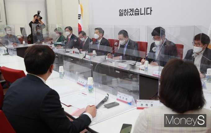 [머니S포토] 가상자산특별위원회서 발언하는 김기현