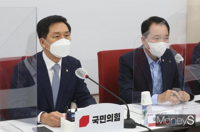 """[머니S포토] 김기현 """"정부는 가상자산 시장 방치"""""""