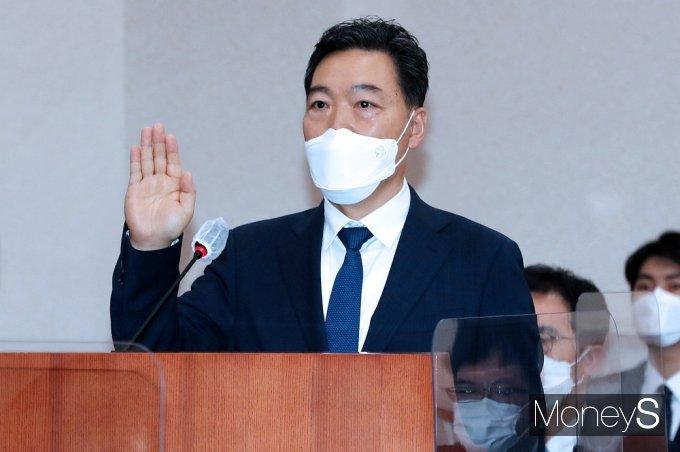 31일 문재인 대통령이 김오수 검찰총장을 임명했다. 이번 정부들어 야당 동의 없이 임명된 33번째 인사다./ 사진=임한별 기자