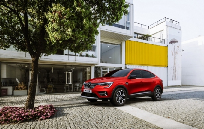 르노삼성자동차가 국내 브랜드 유일의 쿠페 SUV 'XM3'의 2022년형 모델을 4일 출시했다. /사진제공=르노삼성자동차