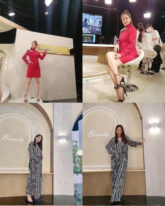 """지난 5일 오후 장영란은 자신의 SNS에 """"살 조금 빠졌다고 협찬 사진에 자신감이 넘쳐나네요""""라는 글을 올렸다. /사진=장영란 SNS"""