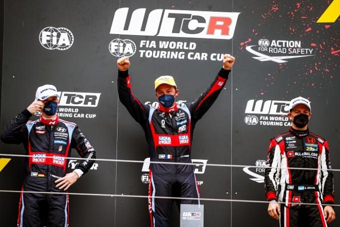 현대차는 같은 기간 WTCR 개막전과 WRC(월드랠리챔피언십) 등 세계적인 모터스포츠 대회에 출전해 N 브랜드의 성능을 뽐냈다. /사진제공=현대자동차
