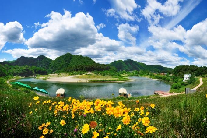 한국관광공사는 무더운 여름을 안전하고 시원하게 보낼 수 있는 '여름 비대면 안심관광지 25선'을 선정했다고 8일 밝혔다. 사진은 강원 영월 청령포. /사진제공=한국관광공사