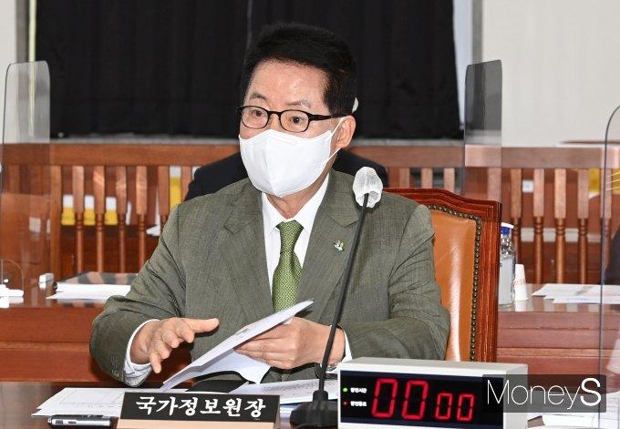 [머니S포토] 국정원, 불법사찰 의혹 23건 감찰 결과 정보위 보고