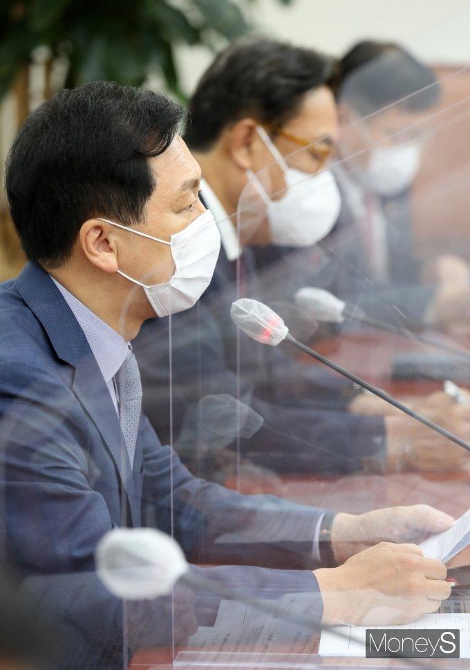 """[머니S포토] 김기현 """"정부·여당, 국정조사·합동 청문회, 나아가 특검까지 반드시 수행해야"""""""
