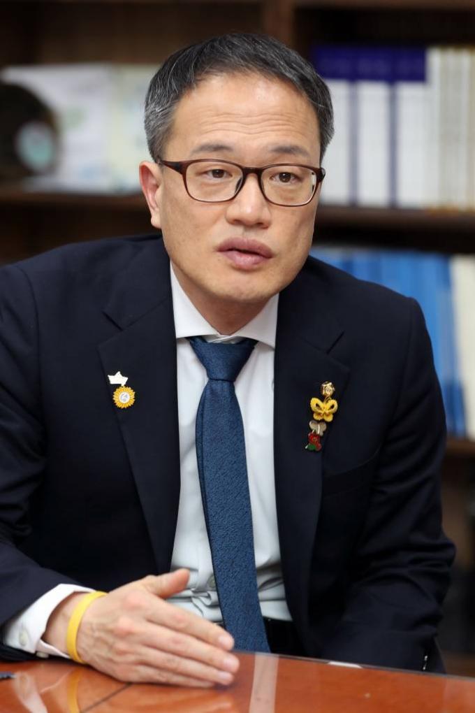 박주민 더불어민주당 의원 인터뷰 /사진=머니투데이 이기범 기자