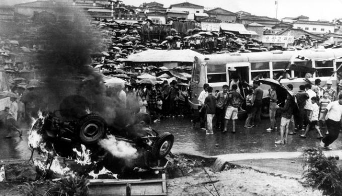 1971년 8월 10일 성남(광주대단지)민권운동 당일 모습. / 사진제공=성남시