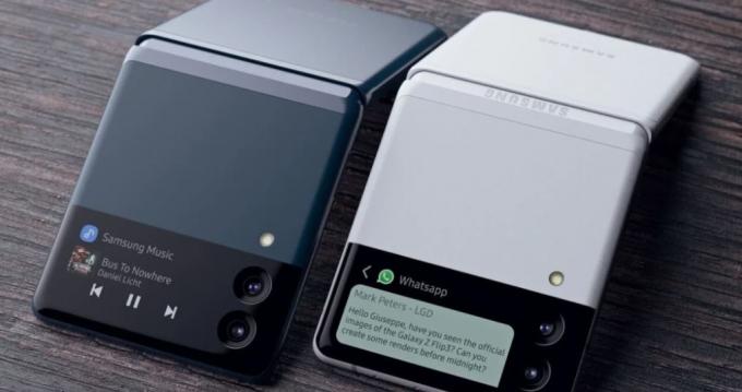 삼성전자가 자사 폴더블폰 갤럭시Z플립3의 색상 라인업을 확대할 것을 보인다. 사진은 갤럭시Z플립3 렌더링 이미지. /사진제공=렛츠고디지털
