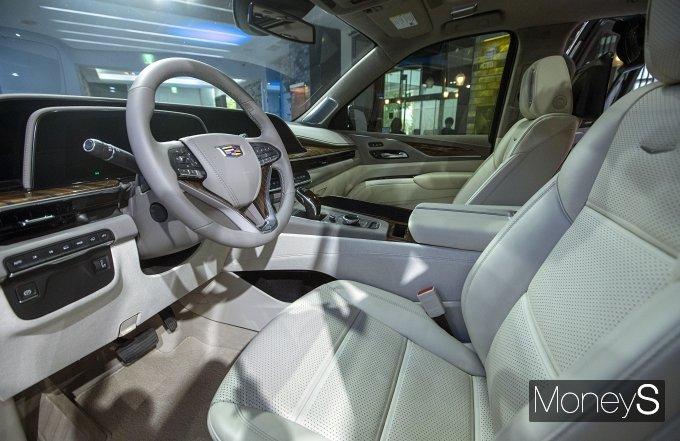 [머니S포토] 'SUV 제왕' 캐딜락, 신형 에스컬레이드 신형 공개