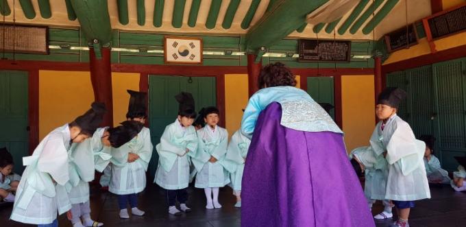 하남시 광주향교를 활용한지역 문화재 활용사업 문화체험 프로그램이 운영된다. / 사진제공=하남시