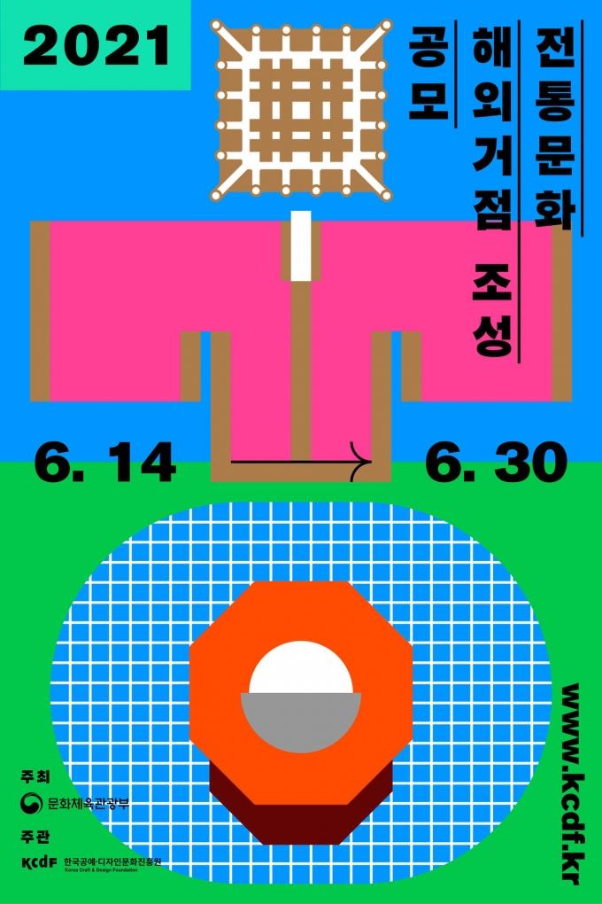 '전통문화 해외거점 조성 지원' 사업 공모 포스터© 뉴스1