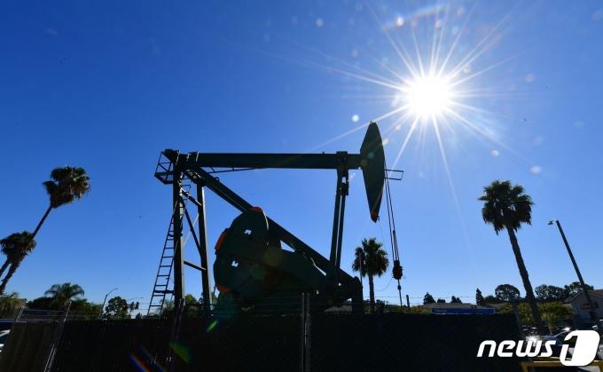 미국 원유시추설비/AFP=뉴스1