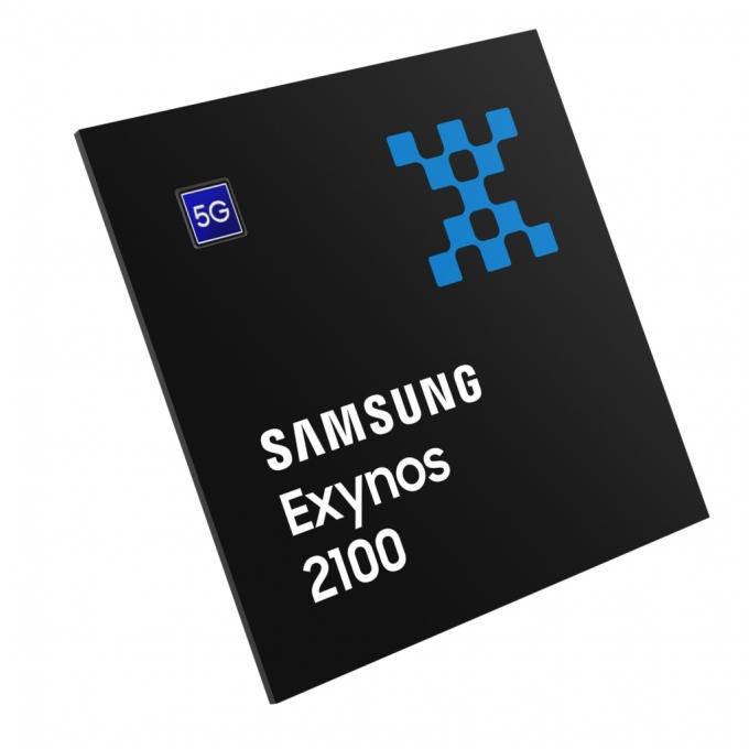 삼성 '갤럭시S21'에 탑재된 모바일AP '엑시노스 2100'. /사진제공=삼성전자