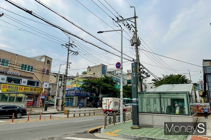 인천계양 신도시가 들어설 인천1호선 박촌역 인근. /사진=강수지 기자